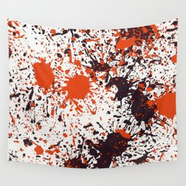 Action Painting No 123 By Chad Paschke Wall Tapestry