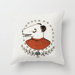 AUTUMN TIME - colour Throw Pillow