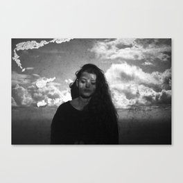 Head in the Clouds. Canvas Print