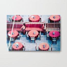 Tables Metal Print