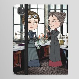 Woman in Science: The Curies iPad Folio Case