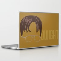 dwight Laptop & iPad Skins featuring Dwight and you by Ally Simmons