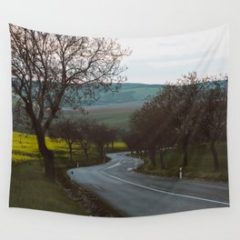Along a rural road - Landscape and Nature Photography Wall Tapestry