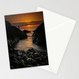 End of a beautiful day Stationery Cards