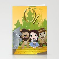 oz Stationery Cards featuring Oz by 7pk2 online