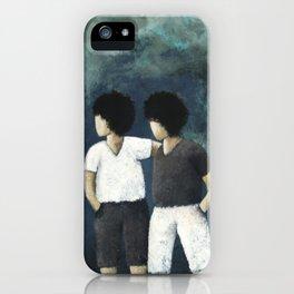 2 Little boys iPhone Case