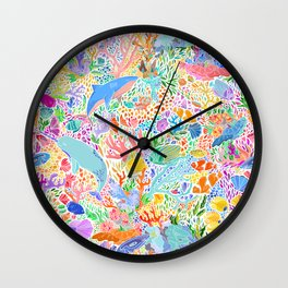 A Narwhal of a Time Wall Clock