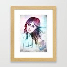 Penélope Framed Art Print