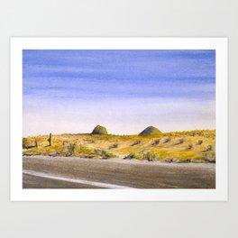 I-10, Cochise County, AZ Art Print