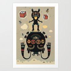 Monstertrap Art Print