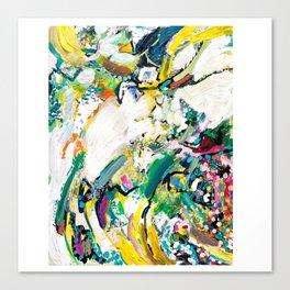 """""""at the wall"""" Canvas Print"""