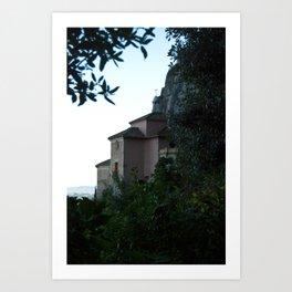 Castle in the Mountain Art Print
