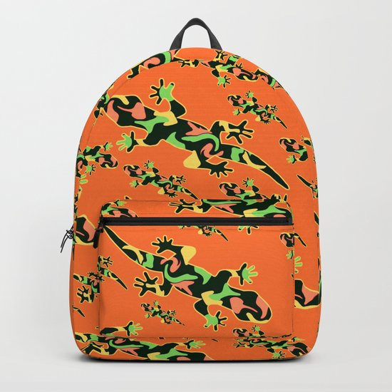 Lizards- tribal Backpack