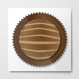Chocolate Box Selection Metal Print