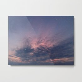 One warm summer evening Metal Print