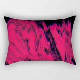Cave Red Rectangular Pillow