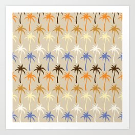 Palm Trees #6 Art Print
