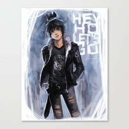 Punk Ghost King Canvas Print