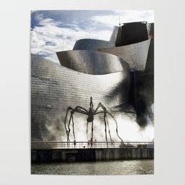 Museu Guggenheim Bilbao | Frank Gehry architect Poster