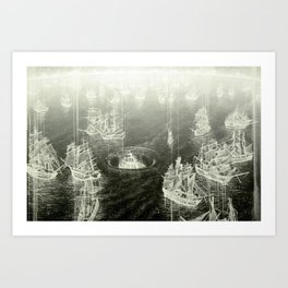 """Fog Bank"" Art Print"