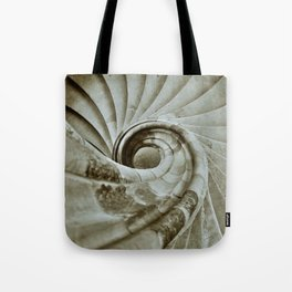 Sand stone spiral staircase 10 Tote Bag