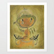 Butterfly banner Art Print