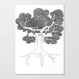 Tree of Life: Circle of Willis Manifest Canvas Print
