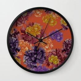 Claveles Wall Clock