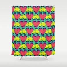 BP 82 V Diamonds Shower Curtain