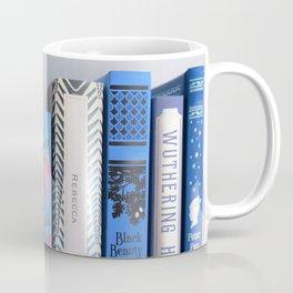 Shelfie in Blue Coffee Mug