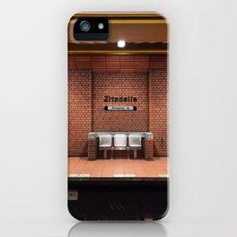 Berlin U-Bahn Memories - Zitadelle iPhone Case