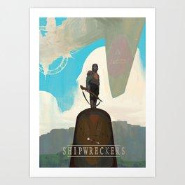 Shipwreckers Art Print