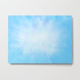Bright Blue Skies Metal Print