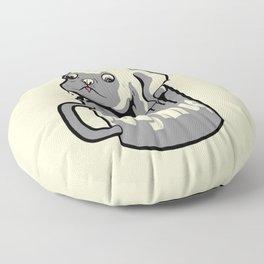 PugMug Floor Pillow