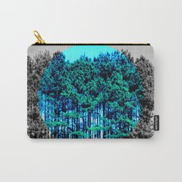 Pop Of Color Tall Trees Carry-All Pouch