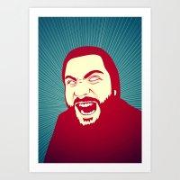 scream Art Prints featuring Scream by FalcaoLucas