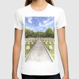 Russian War Graves Budapest T-shirt