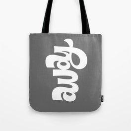 home/away ambigram Tote Bag