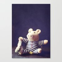 hug Canvas Prints featuring Hug by Sybille Sterk