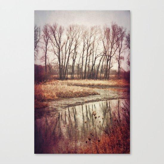 Solitude River Canvas Print