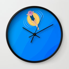 Problem Free Is The Way To Be  Wall Clock