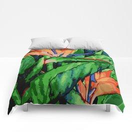 Bird of Paradise Comforters