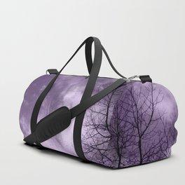 Purple Night  - JUSTART © Duffle Bag
