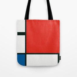 Composition II en rouge, bleu et jaune, Piet Mondrian, 1930 Tote Bag