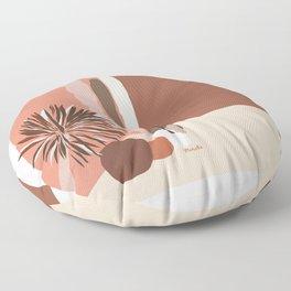 Mexico City 34 Degrees Celsius Floor Pillow