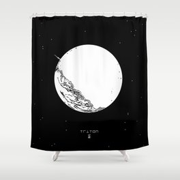 TRITON Shower Curtain