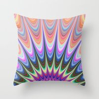 sunrise Throw Pillows featuring Sunrise by David Zydd