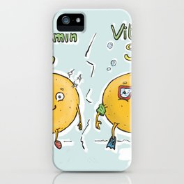 Vitamin Sea iPhone Case