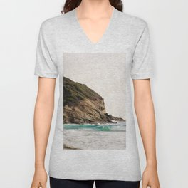 Strands Beach, Dana Point Unisex V-Neck