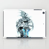 dragons iPad Cases featuring dragons by Vector Art